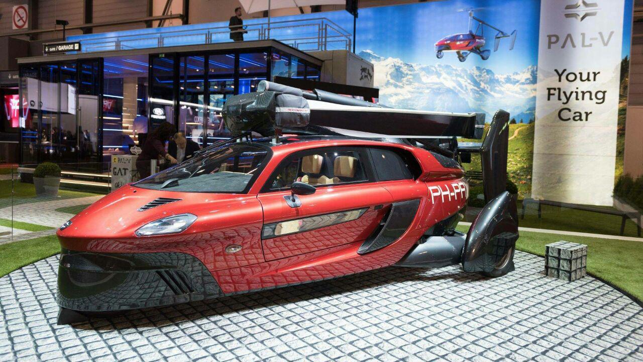 از رویا تا واقعیت : تولید خودروی پرنده تا سال 2020