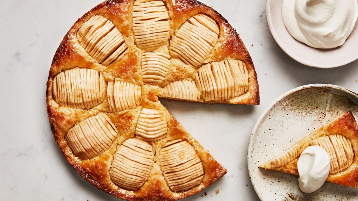 طرز تهیه کیک  سیب آلمانی خوشمزه در منزل