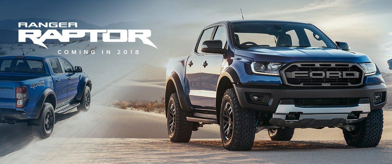 حضور غول آمریکایی (Ford Ranger Raptor 2018) در اروپا