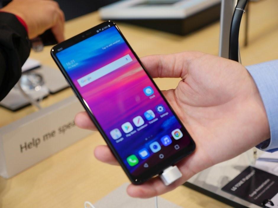 ویژگی های گوشی LG G7 Fit