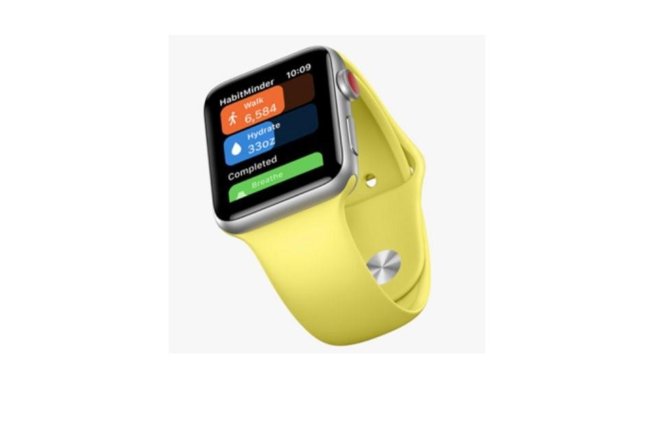 Apple Watch سری 4 با صفحه نمایش 42 میلیمیتری و رزولوشن 480×380