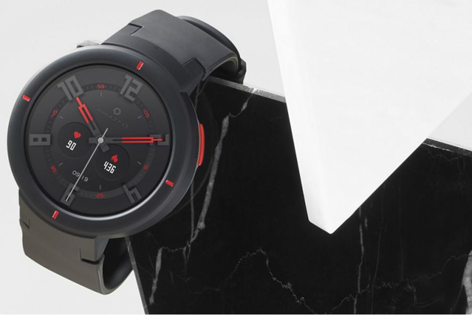 ساعت هوشمند Huami مجهز به مانیتور ضربان قلب، GPS، NFC