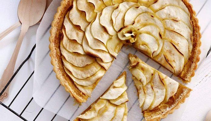 طرز پخت تارت سیب