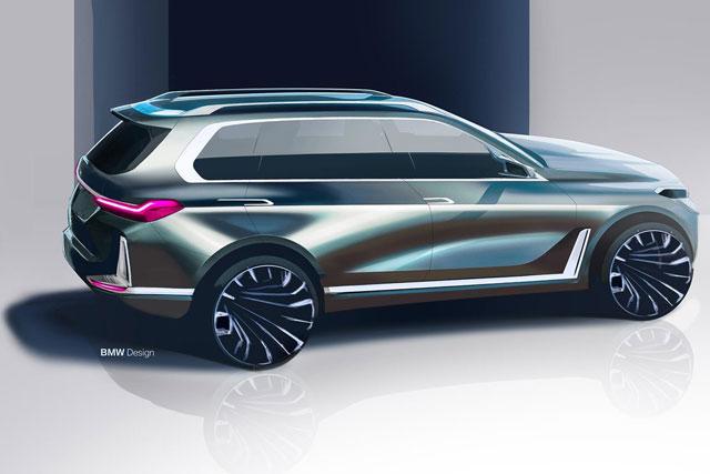 BMW X7 M  به عنوان قویترین و قدرتمند ترین SUV معرفی خواهد شد
