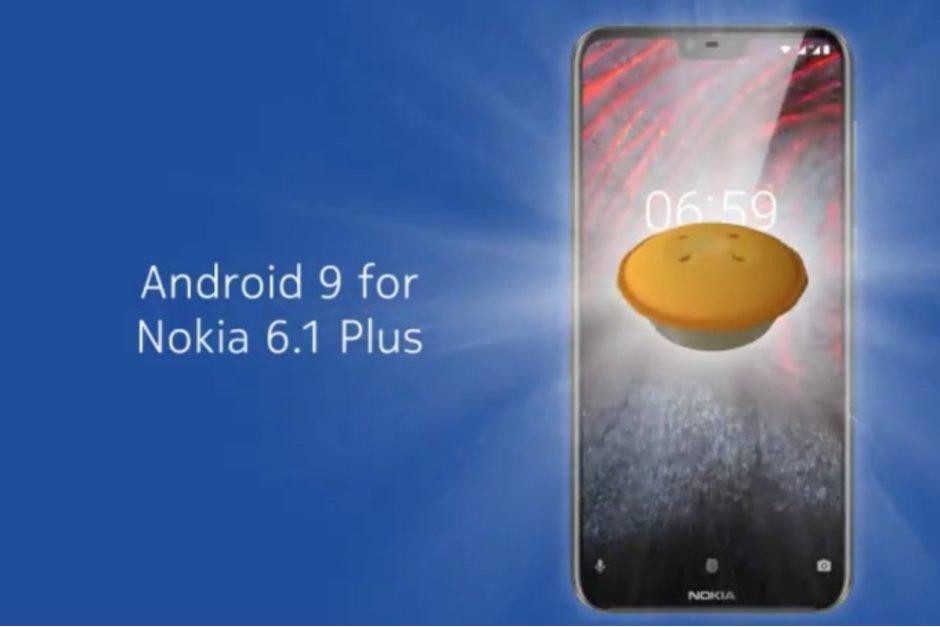 نسخه بتا Android 9.0 Pie در گوشی نوکیا 6.1 پلاس