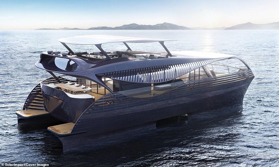 رونمایی از کشتی تفریحی خورشیدی که بدون توقف دور دنیا می رود