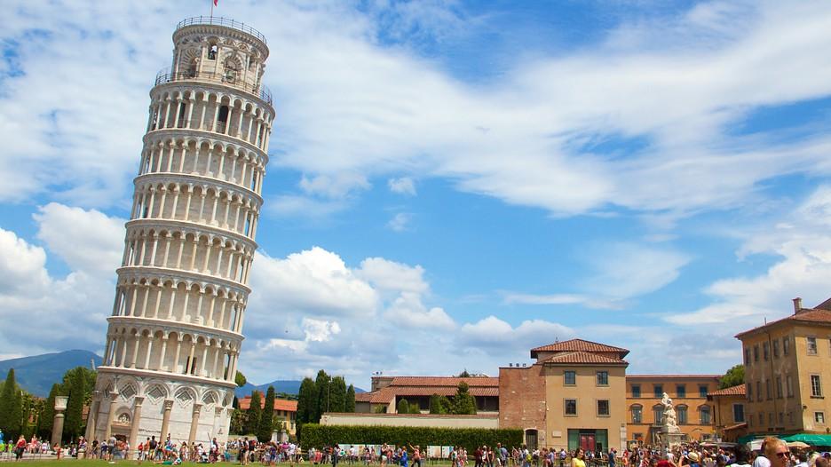 صاف تر شدن برج پیزا ایتالیا
