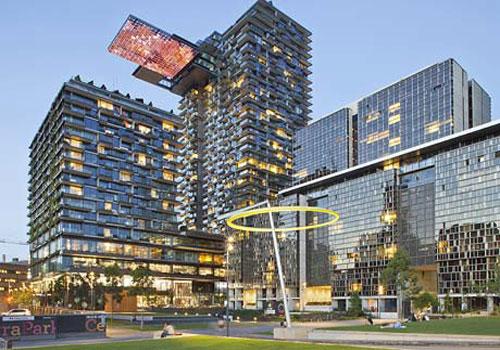 """برج """"وان سنترال پارک"""" بلندترین باغ عمودی دنیا در سیدنی"""