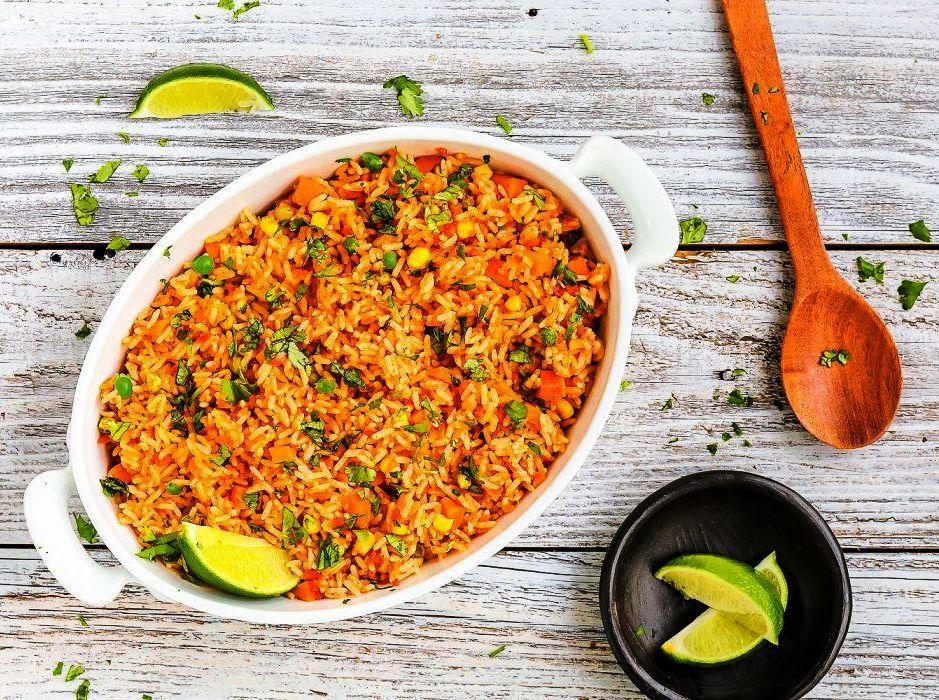 طرز تهیه حرفهای پلو مکزیکی رستورانی ؛ یک پلو ساده و خوشمزه
