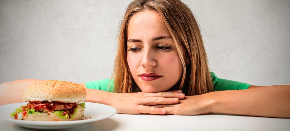 کم غذاخوردن