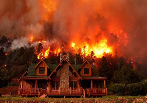 خانه چند ستاره هالیوود در آتش سوزی کالیفرنیا سوخت (عکس)
