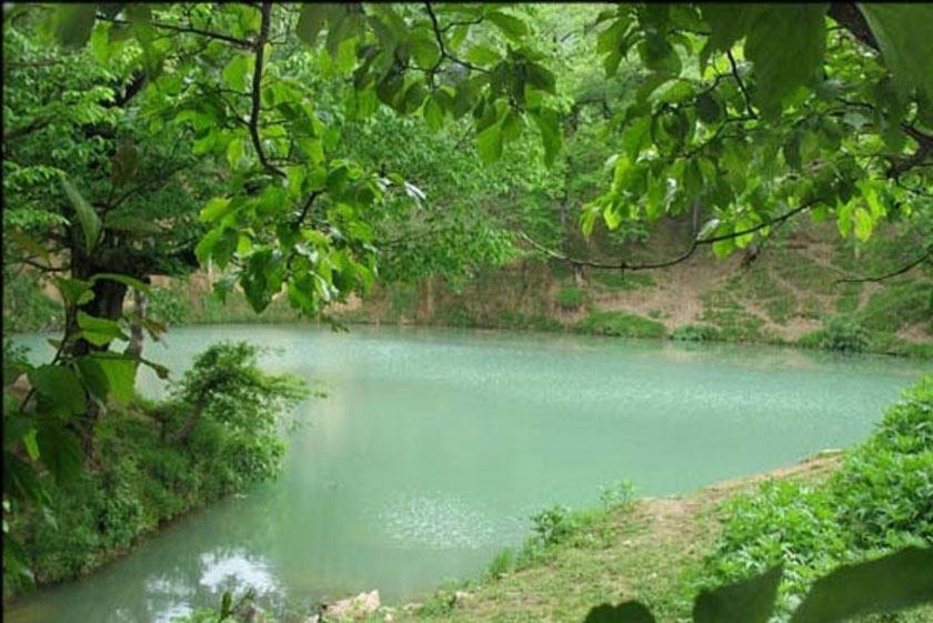 چشمه آب گرم میانج زنجان را بشناسید