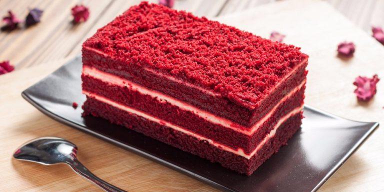 طرز تهیه آسان کیک ردولوت خوشمزه و مجلسی