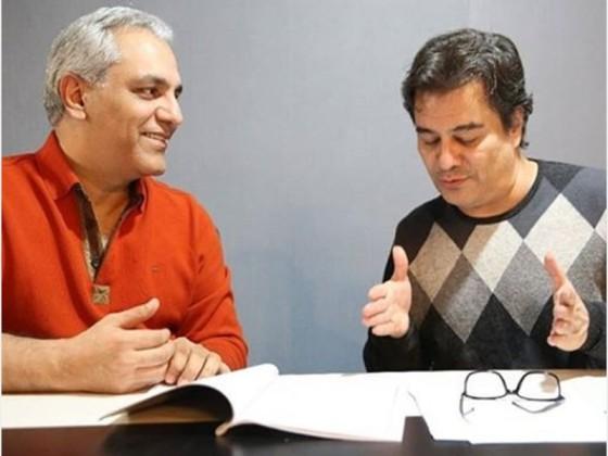اولین تصویر منتشر شده از پشت صحنه سریال جدید مهران مدیری و پیمان قاسم خانی