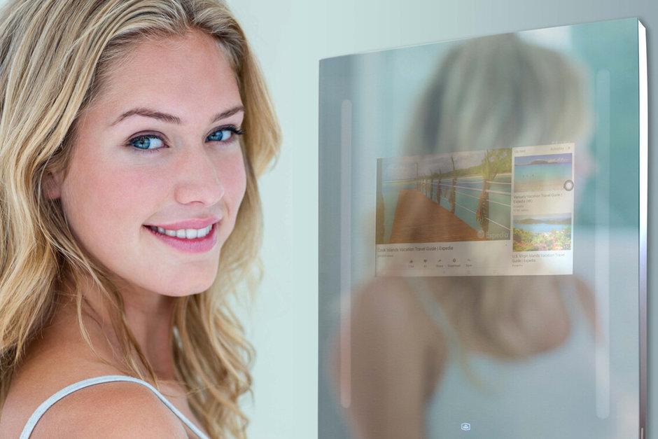 آینه هوشمند اندروید برای حمام