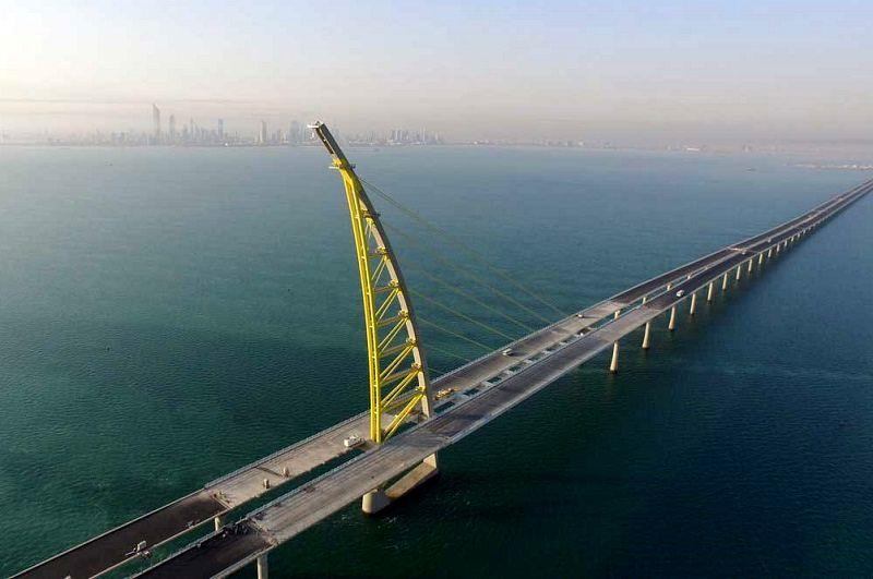 بهره برداری از طولانی ترین پل جهان در کویت