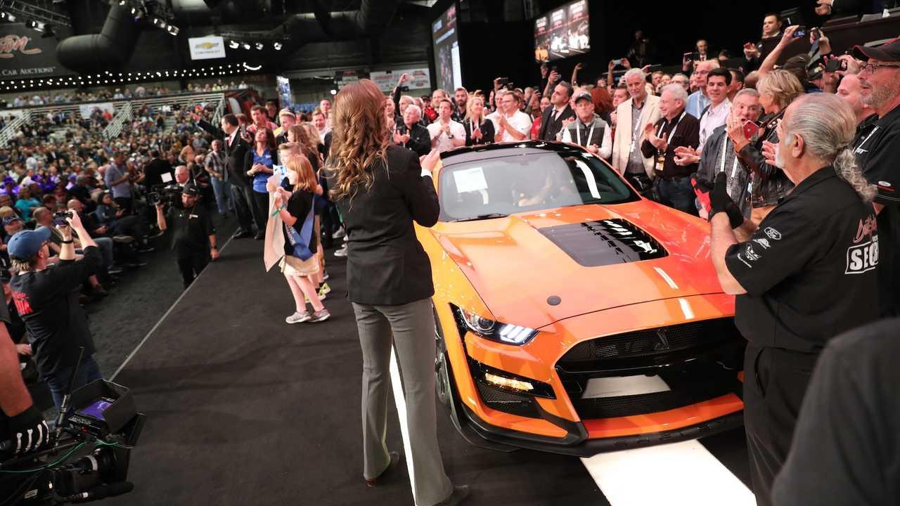 فورد موستانگ شلبی GT500 مدل 2020 رونمایی شد