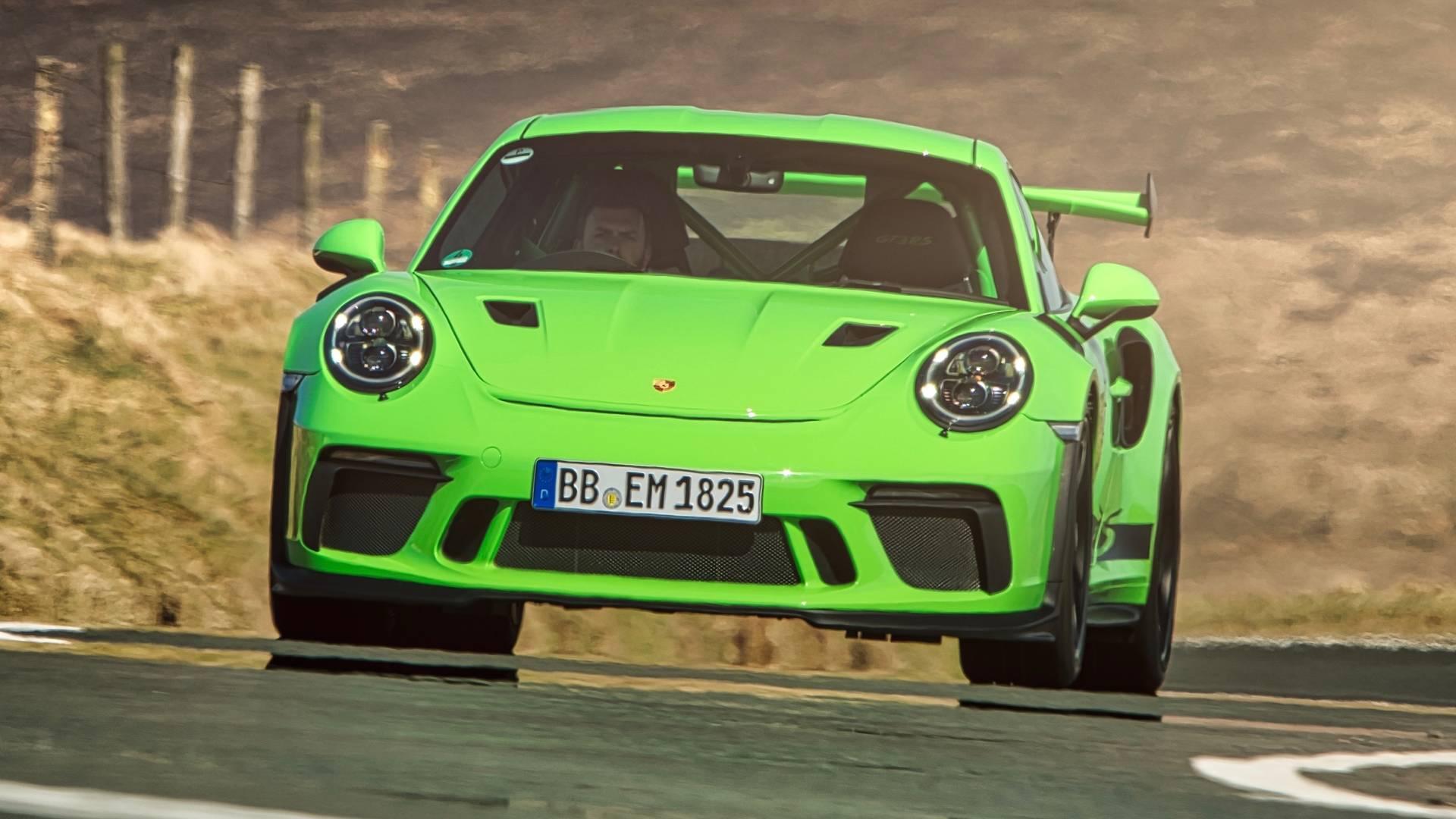 مدل جدید پورشه 911GT3 RS با موتور پیشرفته تر