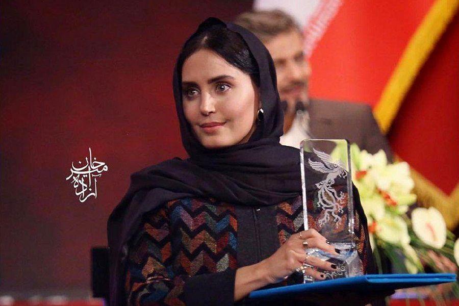 الناز شاکر دوست بهترین بازیگر زن جشنواره فیلم فجر شد