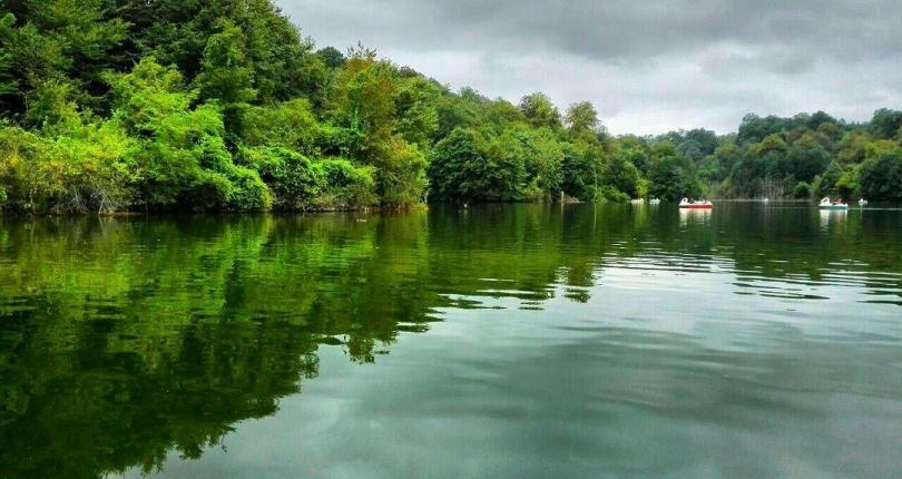 دریاچه الیمالات نگینی میان جنگل های مازندران
