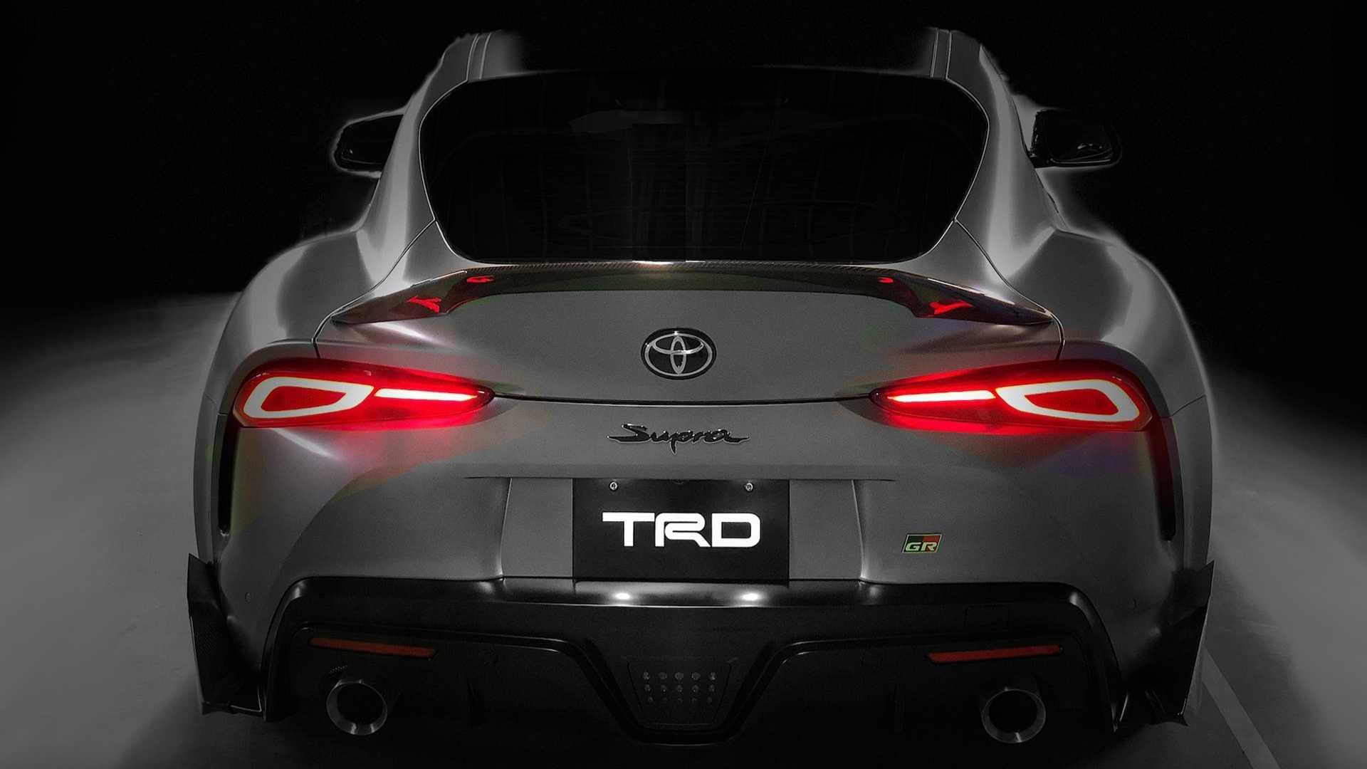 مدل مفهومی Toyota Supra TRD بالاتر از زیبایی