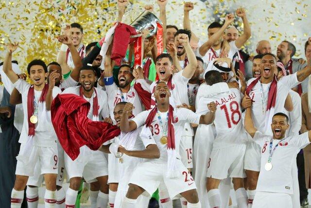 پاداش عجیب و باور نکردنی امیر قطر به بازیکنان تیم ملی قطر بخاطر قهرمانی
