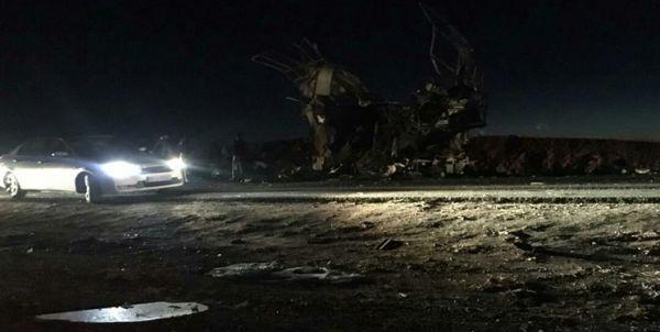 حمله انتحاری به اتوبوس سپاه | 30 کشته و 10 مصدوم