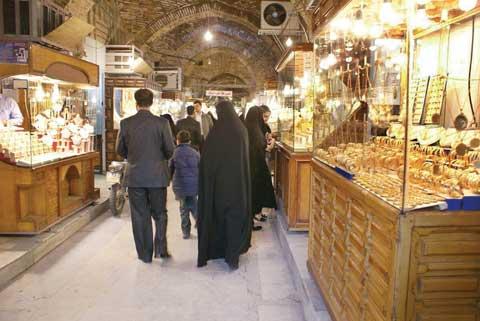 در بازار طلا بوی شب عید حس نمی شود