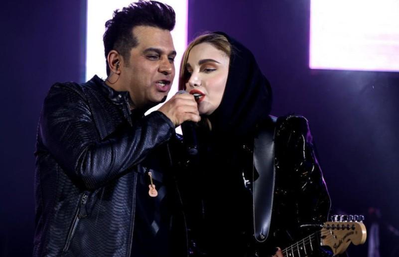 خوانندگی یک زن در کنسرت حمید عسگری درد سر ساز شد + فیلم