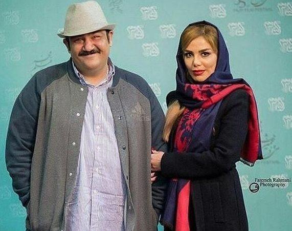 عکس احساسی مهران غفوریان در کنار دخترش