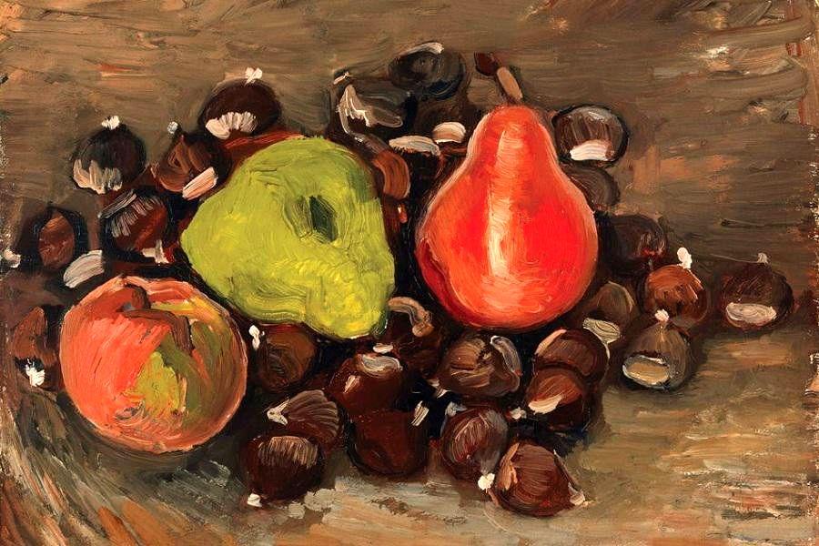 ونگوگ به عنوان صاحب اثر نقاشی میوه و بلوط تایید شد