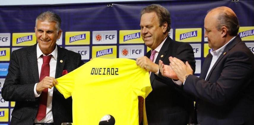 کی روش به صورت رسمی مربی کلمبیا شد