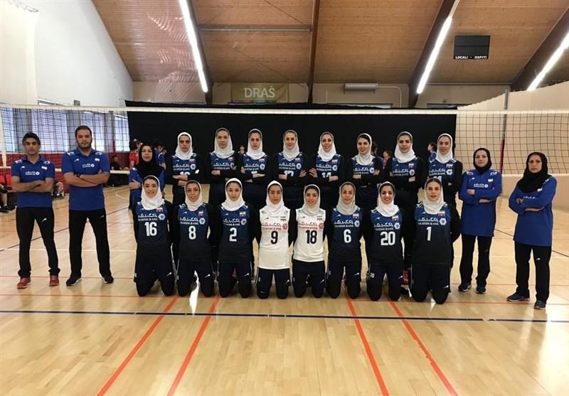 تیم والیبال بانوان ایران در تورنمنت تدارکاتی کرواسی