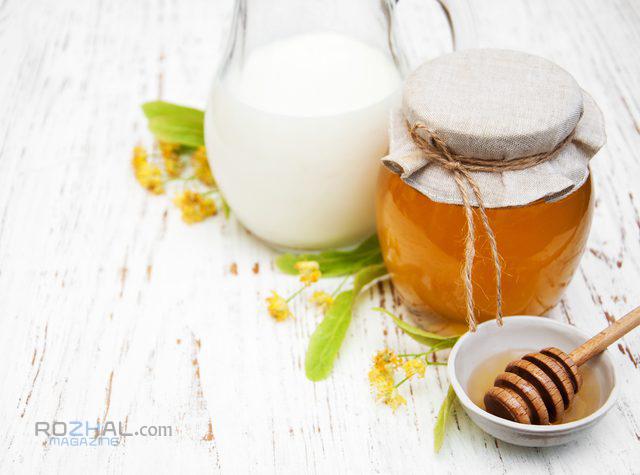 شیر و عسل راز جوانی
