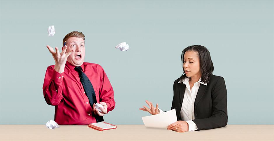 5 اشتباه وحشتناک که در مصاحبه استخدامی باید از آنها اجتناب کنید