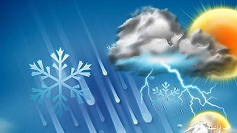 افزایش نسبی دما در نوار شمالی کشور | آسمان پایتخت صاف می ماند
