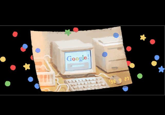 google تولد 21 سالگیاش را با یک لوگوی معنیدار جشن گرفت